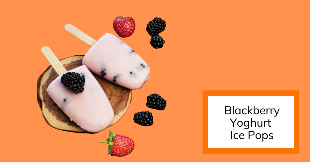 cover image of blackberry ice pops
