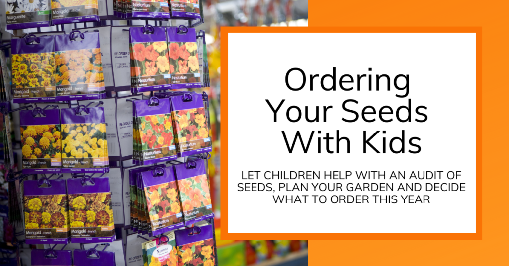 cover image for article about kids helping with seed ordering