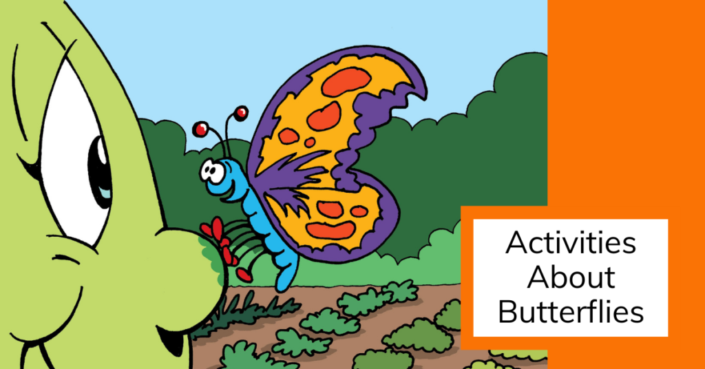 cover image of activities about butterflies