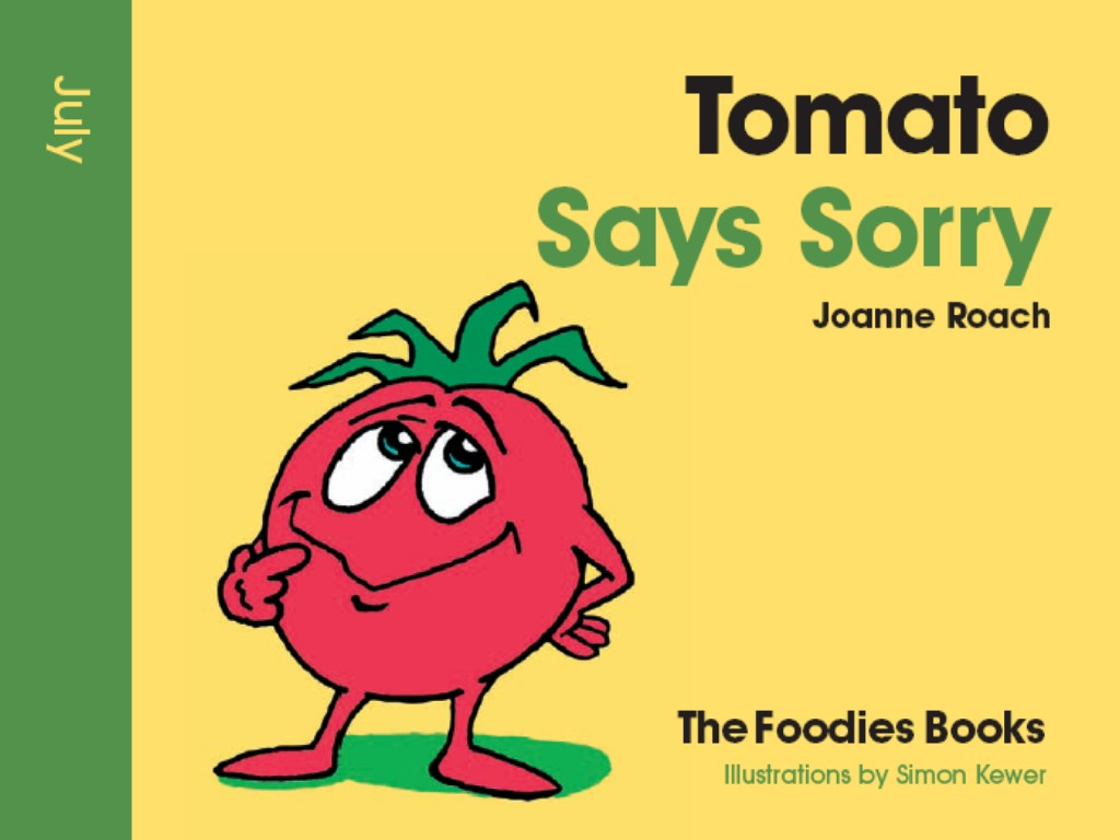 image of book cover Tomato Says Sorry